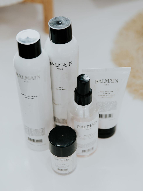 Balmain hair products
