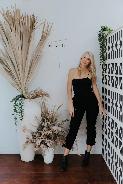 Nicole Taylor, owner of Sass and Niki Wedding Hair